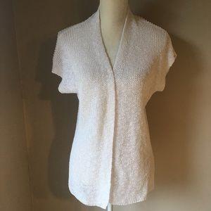 Coldwater Creek Knit short sleeve cardigan